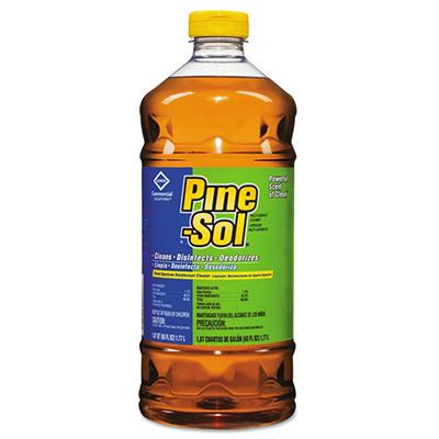 Pine-Sol - Multi-Surface Cleaner/Disinfectant, Original Pine, 60oz Bottles -  6/Carton