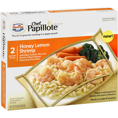 Chef Papillote® Honey Lemon Shrimp - 24oz