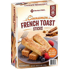 Member's Mark Cinnamon French Toast Sticks (50 sticks)
