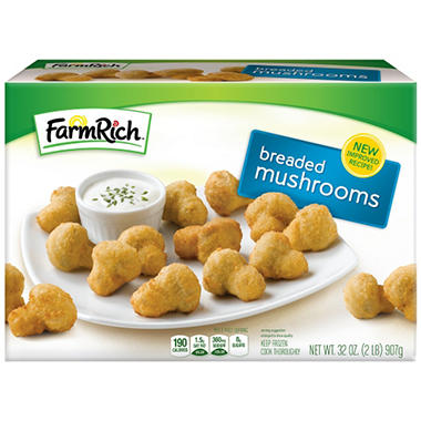 Farm Rich Breaded Mushrooms - 32 oz.