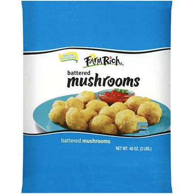 Farm Rich® Battered Mushrooms - 48oz