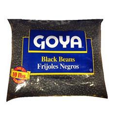 Goya Dry Black Beans (10 lb.)