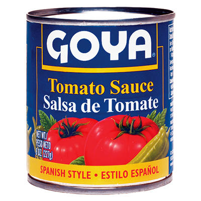 Goya Tomato Sauce - 8 oz. - 48 pk.