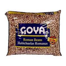 Goya Roman Beans (10 lbs.)
