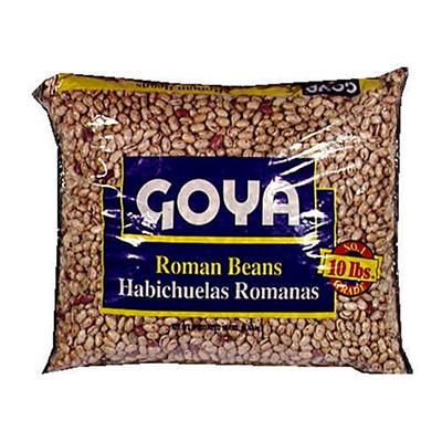 Goya® Roman Beans - 10 LB