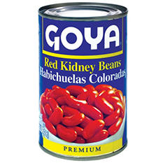 Goya Red Kidney Beans - 15.5 oz. - 6 pk.