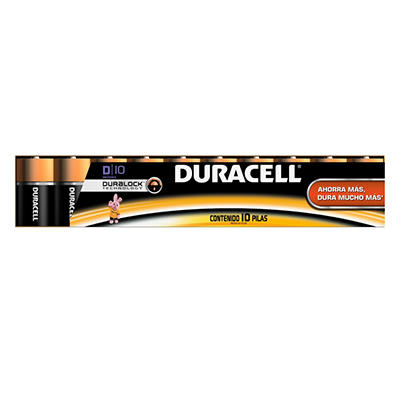 Duracell - D - 10 pk.