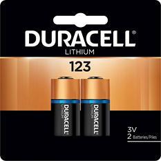 Duracell Ultra Lithium 123 3V Batteries (2 Pk.)