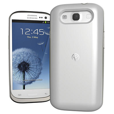 Duracell Powermat Wireless Case for the Samsung Galaxy SIII- White