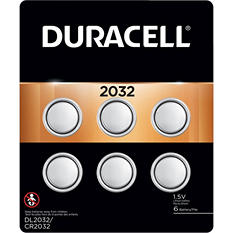 Duracell Coin Button 2032 Batteries 6 Count