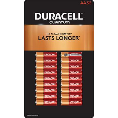 Duracell Quantum Alkaline AA Batteries - 36 pk