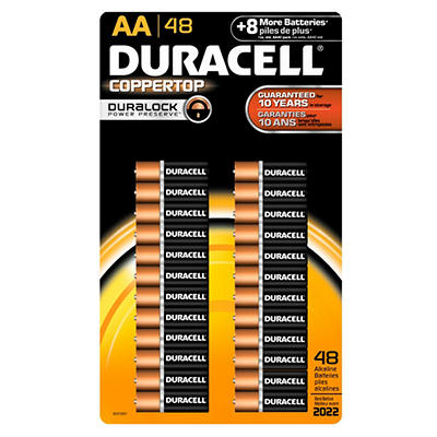 Duracell - AA - 48 pk.