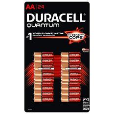 Duracell Quantum Alkaline AA - 24 pk