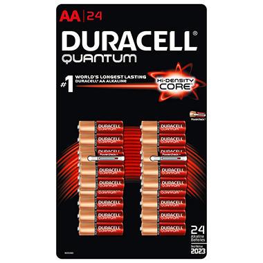 Duracell Quantum Alkaline AA Batteries (24 Pk.)