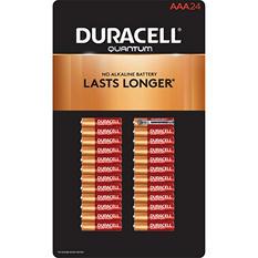 Duracell Quantum AAA Alkaline Batteries 24 Count