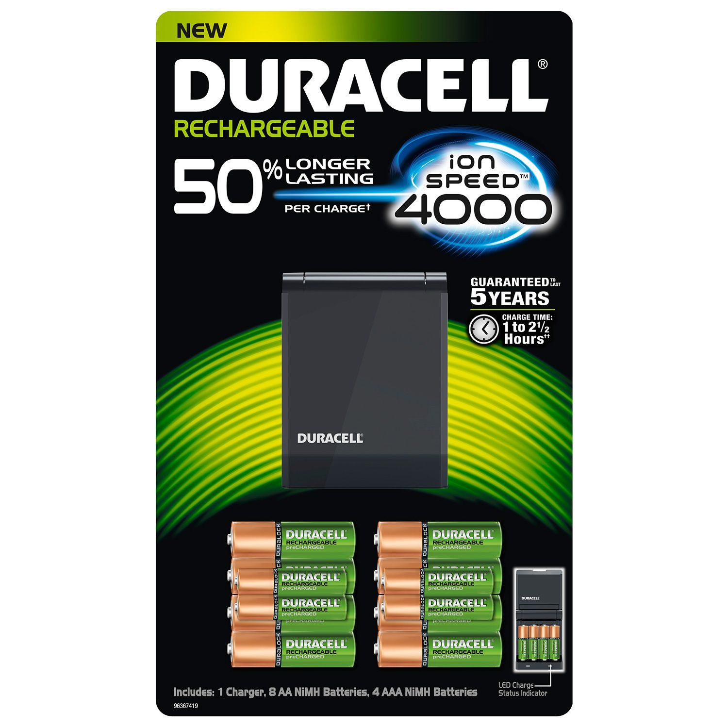 Duracell rechargeable battery charger not working