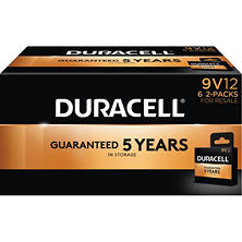 Duracell Coppertop Alkaline 9V Batteries for Resale (12 Pk.)