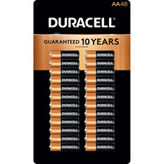 Duracell Coppertop Alkaline Batteries AA - 48 pk