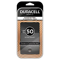 Duracell Mobile PowerPack Plus 6800 mAh Backup Battery For Smartphones + Tablets