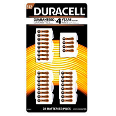 Duracell Hearing Aid Size #312 Batteries 28ct.
