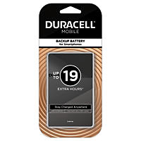 Duracell Mobile PowerPack Nano 2500 mAh Backup Battery For Smartphones - Black
