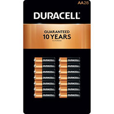 Duracell Coppertop AA Batteries - 28 pk