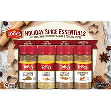 Tone's Holiday Spice Essentials, Variety Pack