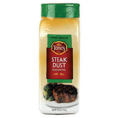 Tone's Steak Dust - 14.5oz