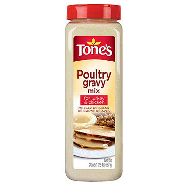 Tone's® Poultry Gravy Mix - 20 oz.