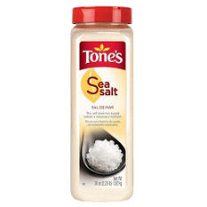 Tone's® Sea Salt - 36 oz.