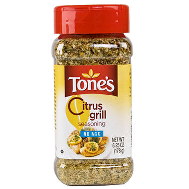 Tone's Citrus Grill Seasoning - 6.25 oz.