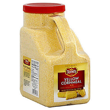 Tone's® Ground Yellow Cornmeal - 116oz