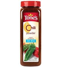 Tone's® Chili Powder - 20 oz. shaker