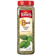 Tone's Sweet Basil Leaf - 5.5 oz. shaker