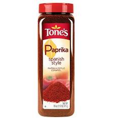 Tone's® Spanish Paprika - 18 oz. shaker