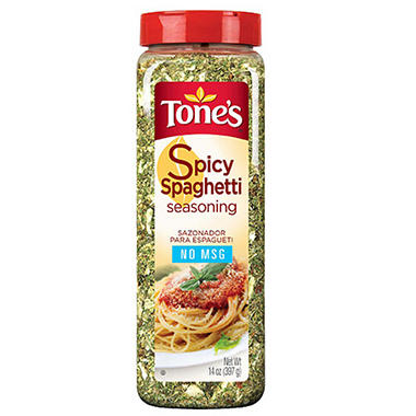Tone's® Spicy Spaghetti Seasoning - 14 oz.