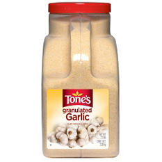 Tone's Granulated Garlic (7.25 lb.)