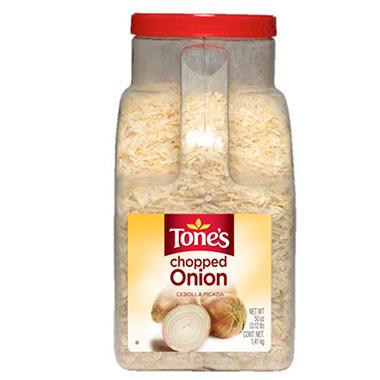 Tone's Chopped Onion (50 oz.)