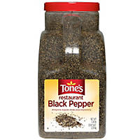 Tone's Restaurant Black Pepper (5 lb.)