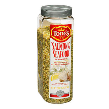 Tone's® Salmon & Seafood Seasoning - 20 oz.