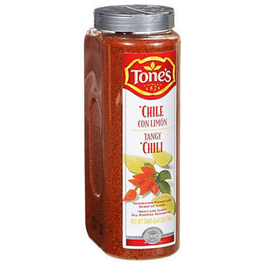 Tone's® Tangy Chili Seasoning-26 oz. shaker