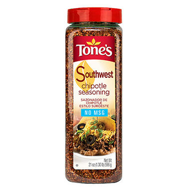 Tone's® Southwest Chipotle Seasoning - 21 oz.