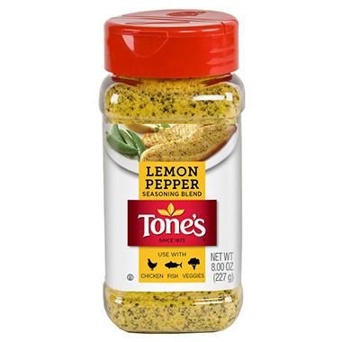 Tone's Lemon Pepper Blend - 8 oz