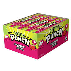 Sour Punch Straws Strawberry - 2 oz. - 24 ct.