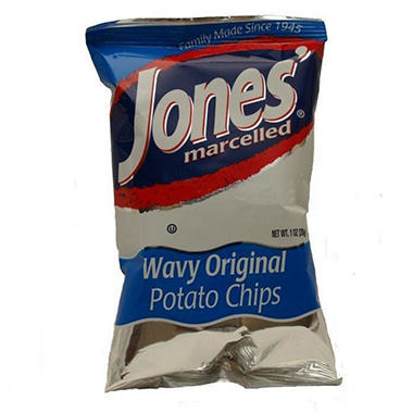 Jones Wavy Potato Chips ( 1 oz. , 60 ct. )