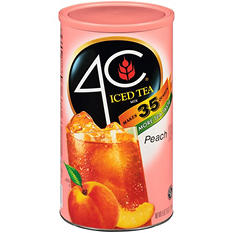 4C Iced Tea Mix, Peach (87.9 oz.)