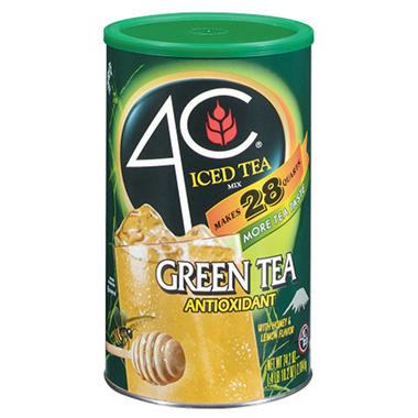 4C Green Iced Tea Mix - 74.2 oz.
