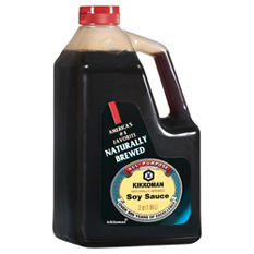 Kikkoman Naturally Brewed Soy Sauce - 1 gal.