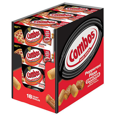 Combos Pepperoni Pizza Cracker Singles (18 ct.)