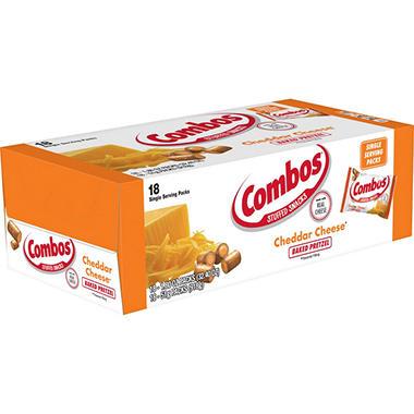 Combos Cheddar Flavor Pretzels - 18 ct.